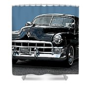1948 Cadillac Fastback Shower Curtain