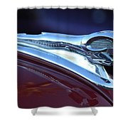 1948 Dodge Ram Hood Ornament Shower Curtain