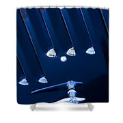 1948 Mg Tc Hood Handle Shower Curtain