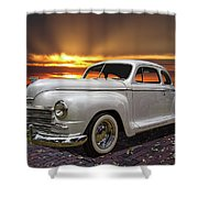 1948 Plymouth Two Door Coupe Shower Curtain