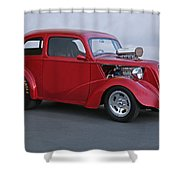 1949 Anglia Pro Street I Shower Curtain