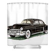 1949 Cadillac Fleetwood Sedan Shower Curtain