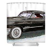 1949 Cadillac Sedanette Shower Curtain