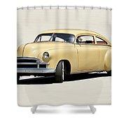 1949 Chevrolet Custom Fleetline Sedan II Shower Curtain
