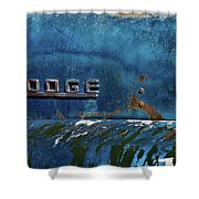 1949 Dodge Truck Symbol Shower Curtain