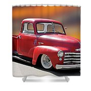 1950 Chevrolet 3100 Pickup 'show Low' I Shower Curtain