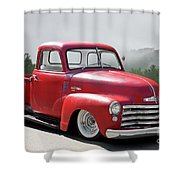 1950 Chevrolet 3100 Pickup 'show Low' II Shower Curtain