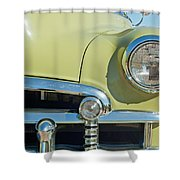 1950 Chevrolet Fleetline Grille Shower Curtain