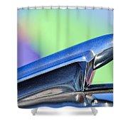 1950 Chevrolet Hood Ornament 3 Shower Curtain