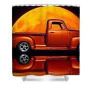 1950 Chevy Pickup Poster Shower Curtain