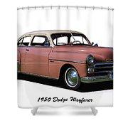 1950 Dodge Wayfarer 2 Door Sedan Shower Curtain