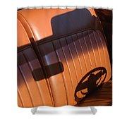 1950 Oldsmobile Rocket 88 Convertible Interior Shower Curtain