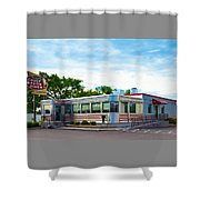 1950's Diner Shower Curtain