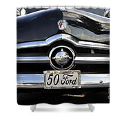 1950s Ford Shower Curtain