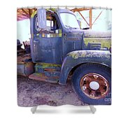 1950s International Truck Shower Curtain
