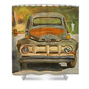 1951 Ford Truck Shower Curtain