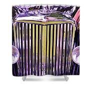 1951 Jaguar Mark V D H C Shower Curtain
