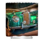 1951 Mercedes-benz 300 S Convertible A 7r2_dsc8202_05102017 Shower Curtain