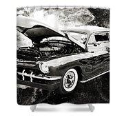 1951 Mercury Classic Car Photograph 001.01 Shower Curtain