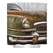 1951 Nash Ambassador Hydramatic Front End Shower Curtain