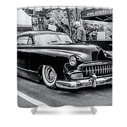 1951 Chevy Kustomized  Shower Curtain