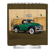 1952 Ford F100 Pickup Shower Curtain