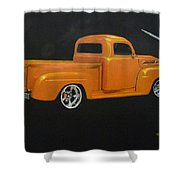 1952 Ford Pickup Custom Shower Curtain