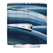 1952 Jaguar Hood Shower Curtain