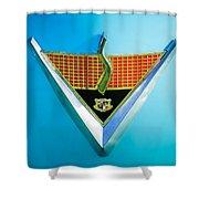 1952 Studebaker Emblem Shower Curtain
