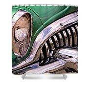 1953 Buick Chrome Shower Curtain
