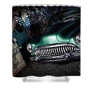 1953 Buick Roadmaster Shower Curtain