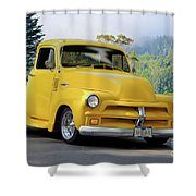 1953 Chevrolet Stepside Pickup I Shower Curtain