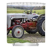 1953 Ford Golden Jubilee Naa Shower Curtain