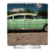 1953 Hudson Hornet Shower Curtain