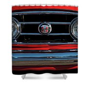 1953 Nash Healey Roadster Grille Shower Curtain