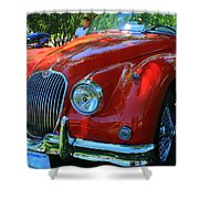 1953 Xk 150 Jaguar Shower Curtain