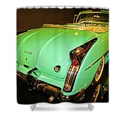 1954 Buick Skylark Fins Shower Curtain