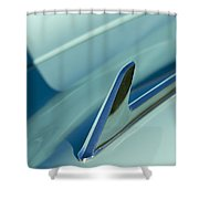 1954 Chevrolet Hood Ornament 2 Shower Curtain