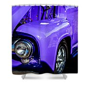 1954 Ford F100 2 Shower Curtain