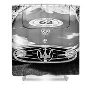 1954 Maserati A6 Gcs -0255bw Shower Curtain