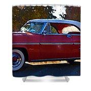 1954 Mercury Monterey Shower Curtain