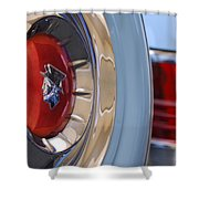 1954 Mercury Monterey Merco Matic Spare Tire Shower Curtain
