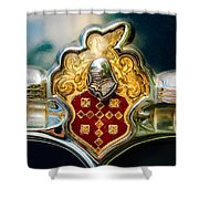 1954 Patrician Packard Emblem 2 Shower Curtain