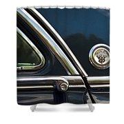 1954 Patrician Packard Emblem 3 Shower Curtain