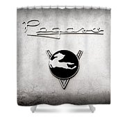 1954 Pegaso Z-102 Saoutchik Coupe Emblem -2218ac Shower Curtain