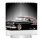 1955 Chvrolet Bel Air 'nor Cal Style' II Shower Curtain