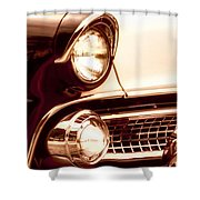 1955 Ford Fairlane Shower Curtain