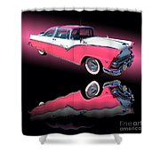1955 Ford Fairlane Crown Victoria Shower Curtain