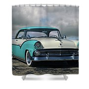 1955 Ford Fairlane Victoria Shower Curtain