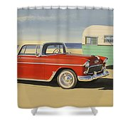 1955 Nomad Shower Curtain